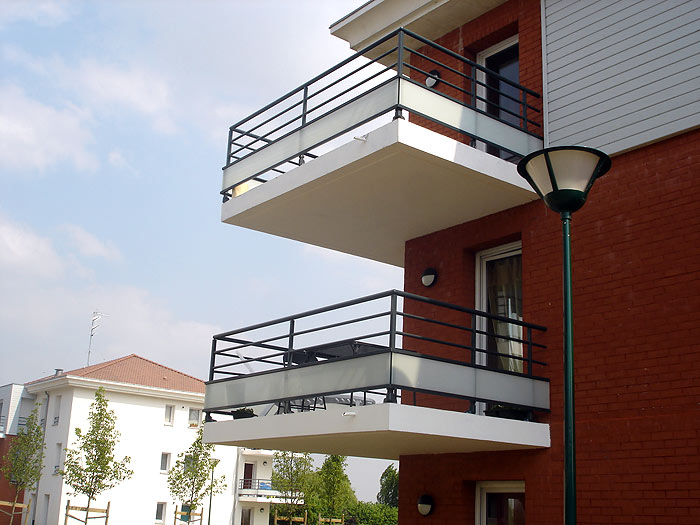 Extrêmement Garde-corps balcon Aluminium - Métallerie | Inox Alu Concept QF02